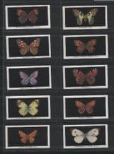 Cigarette cards set British Butterflies 1935 by Abdulla