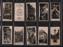 Cigarette cards set British Royal & Ancient Buildings