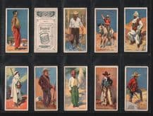 Cigarette cards set Picturesque People of the Empire, Coolie Hong Kong, Maori,