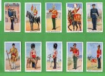 Cigarette cards Soldiers of the King, Commonwealths