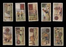 Cigarette cards tobacco cards Boy Scouts set. 1930