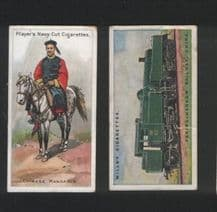 Cigarette cards tobacco insert OLD CHINA #315