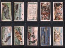 Cigarette Cards Whaling 1930 beautiful set of 25