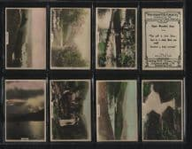 Cigarette cards Wordsworths country 1926 , poetry