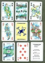 Collectable  Advertising playing cards. Kimberley Clark