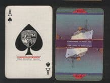 Collectable advertising playing cards. P.& O shipping line