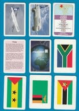 "Collectable Cards game by Finnair airlines, ""World Tour"","