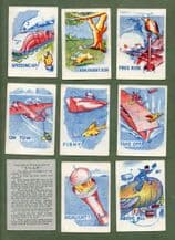 Collectable Cards game Snap by Woolworths. War-time