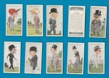 Collectable cigarette cards Horse racing, Jockeys, etc. 1929  Turf Personalities