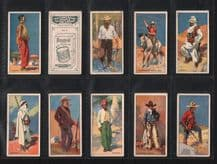 Collectable Cigarette cards set Picturesque People of the Empire