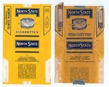 Collectable Cigarette packet  2 varieties USA packets #396