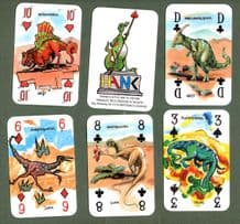 Collectable Dinosaurs Non-standard court playing cards Hank