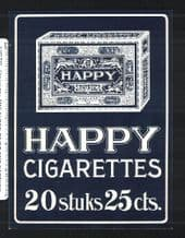 Collectable large Cigarette packet labels cigarette &  advertisi