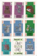 Collectable vintage advertising playing cards Fluocaril. toothpaste