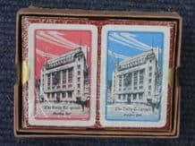 Collectible Advertising playing cards Daily Telegraph