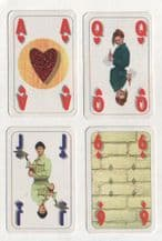 Collectible advertising  playing cards. Pontmeyer.  building company