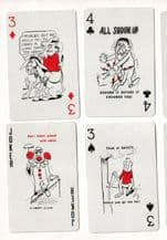 """Collectible Advertising playing cards. State Insurance """"safety"""""""