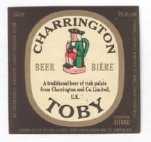 Collectible beer bottle labels unusual collection G.B. #074