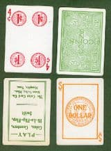 Collectible cards game Coin Cards