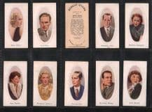 Collectible Cigarette cards Film Stars  Screen Stars 1936  Joan Crawford,