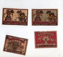 Collectible match box labels CHINA or JAPAN patriotic #810