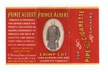 Collectible old cigarette rolling papers packet Prince Albert  #226