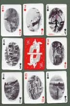 Collectible  playing cards . Norway Souvenir by Nyborg