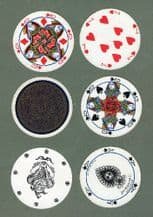 Collectible playing cards .double deck. Cir-Q-lar