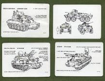 Collectible playing cards  Armoured Vehicle Recognition