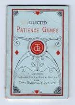 Collectible playing cards book, Patience games