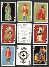Collectible playing cards By Faurnier Far East China Japan & etc