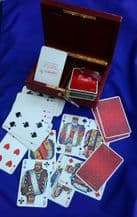 Collectible playing cards courts. Double Deck. Cofrarec by Tapiau. Miro cards.
