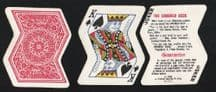 Collectible playing cards Crooked Deck 1969