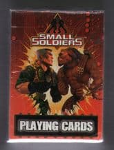 Collectible  playing cards Small Soldiers 1998,