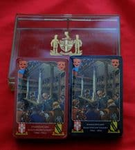 Collectible playing cards Worshipful 1964 Shakespeare