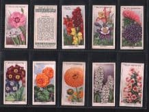 Collectible  Tobacco cigarette cards Garden Flowers 1933 set