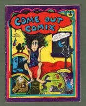 Comic book underground comix Coming Out # 1 #308