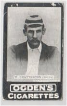 Cricket old card circa 1900  W. Chatterton