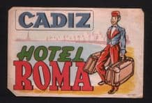 Hotel label luggage labels baggage Bell Boy