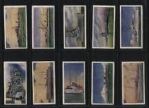 Military cigarette cards Royal Navy Our Navy 1937