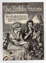 old 1930-40's fortune telling women's weekly premium gift booklet #068