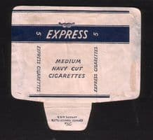 Old RARE mini British cigarette packet Express   #872
