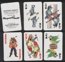 Parrots Collectible playing cards  by Margaret Parrot