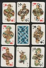 Playing cards 1996 Cyb traditional, Collectible Non-standard