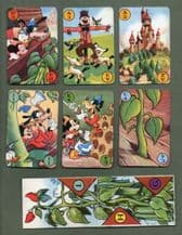 Rare Cards game Mickey and the Beanstalk by Pepys