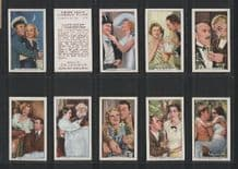 Shots from famous Films 1935 set of 48 cigarette cards