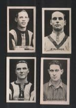 """The Champion"""" 4 early 1922-3 Football trade cards  #494"""