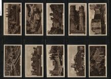 Tobacco cards Cigarette cards Castles 1939 by cope
