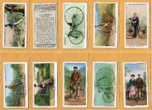 Tobacco cards Cigarette cards Cycling 1939 set