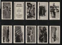 Tobacco cards Cigarette cards Military weapons 1938